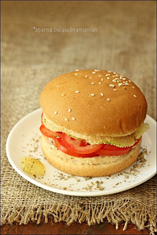 My Favourite Crunchy Tomato Sandwich