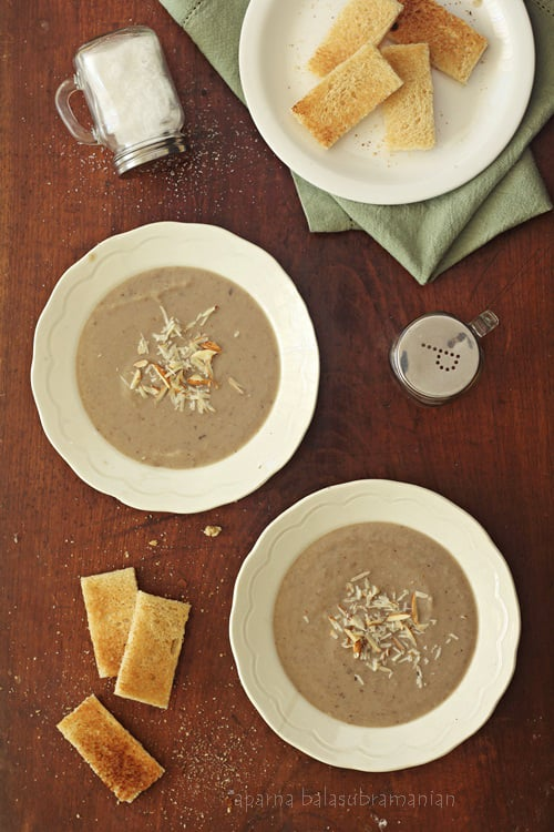 A Creamy Three Bean Soup