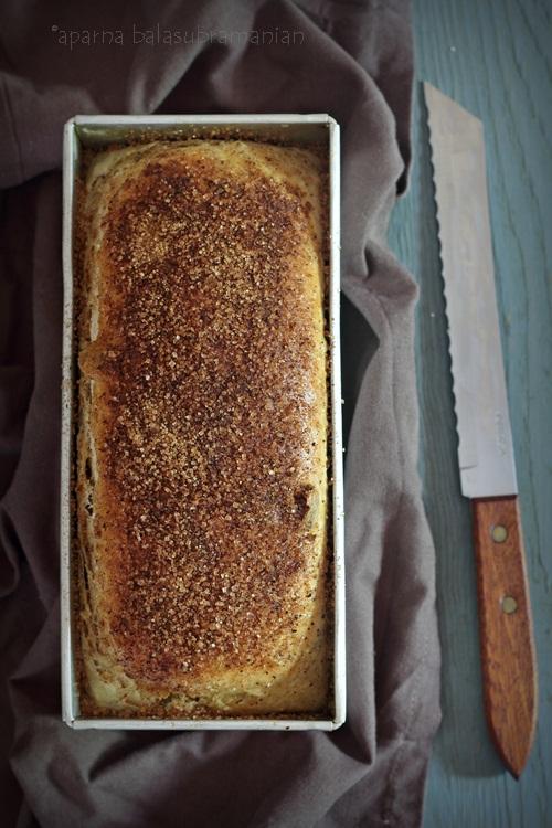 Cinnamon Raisin Struan Bread