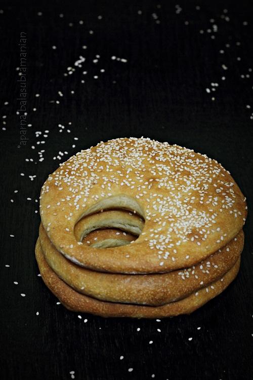 Ka'ak – Lebanese Sesame Topped Bread