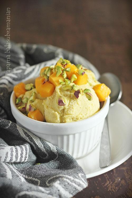 Vegan Mango Avocado Gelato