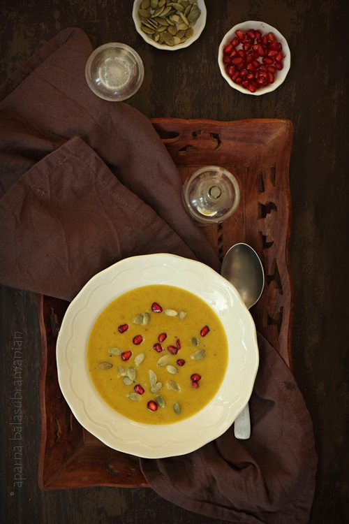 Creamy Roasted Pumpkin Soup