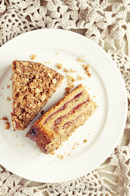 Yeasted Plum Coffee Cake