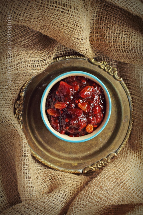 Tamarillo Apple Chutney