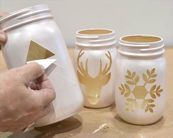 17 Cute  Easy DIY Mason Jar Ideas