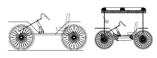 4 wheel cycle pedal car plans homemade Quadricycle