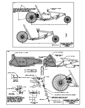 Crafters: Wooden bike building plans