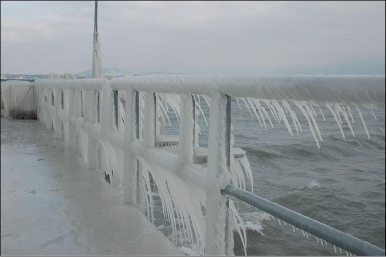 Versoix Cenevre İsviçre 2005 Kış