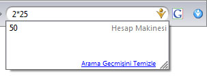 Google Hesap Makinesi
