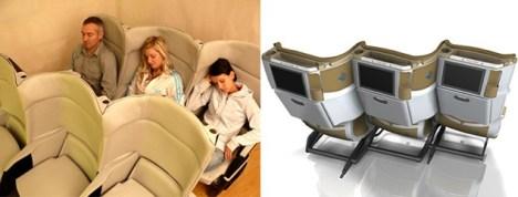 Delta Airlines Yeni Nesil Uçak Koltukları