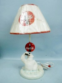 "18"" Polar Bear Lamp by Coca Cola | eBay"