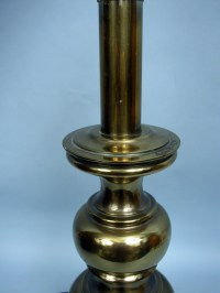 "Stiffel Vintage 26"" Solid Brass Traditional Table Lamp ..."