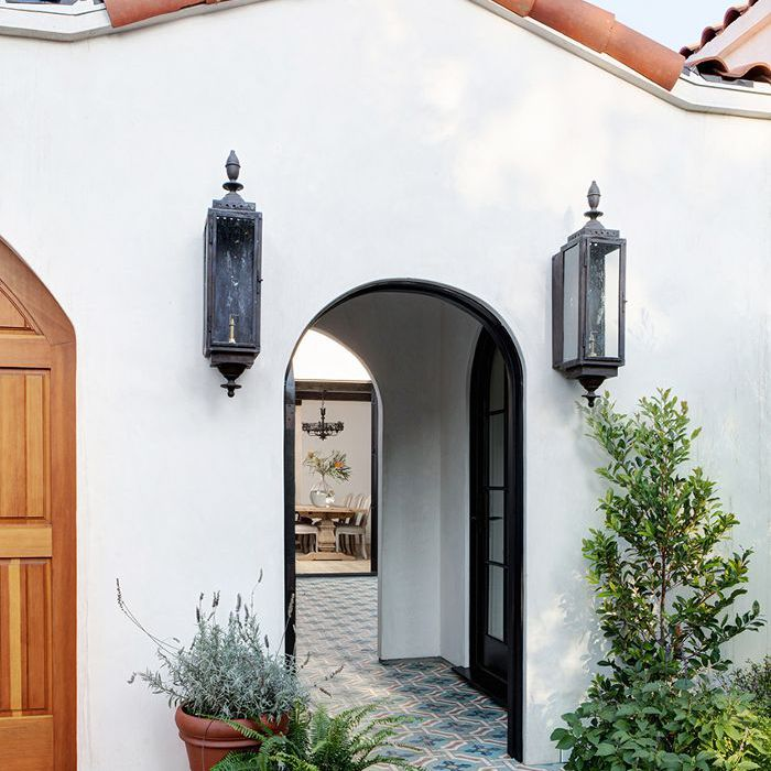 this modern spanish revival home is a dream