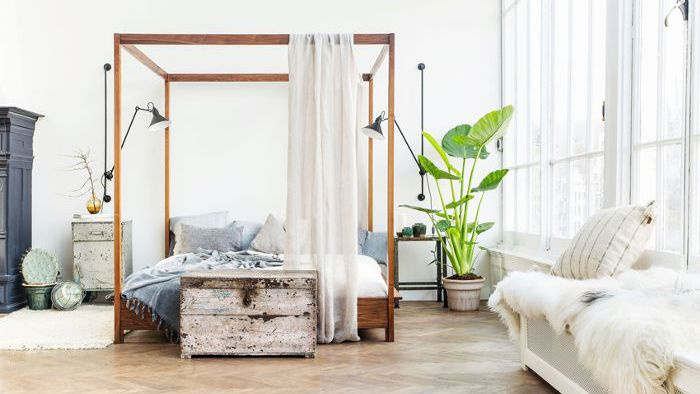 how to style an insanely cool loft bedroom