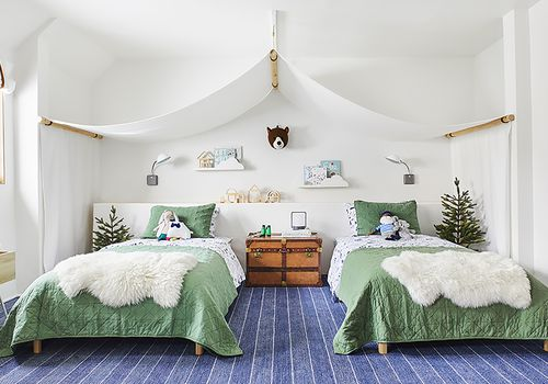 13 twin beds with concealed storage