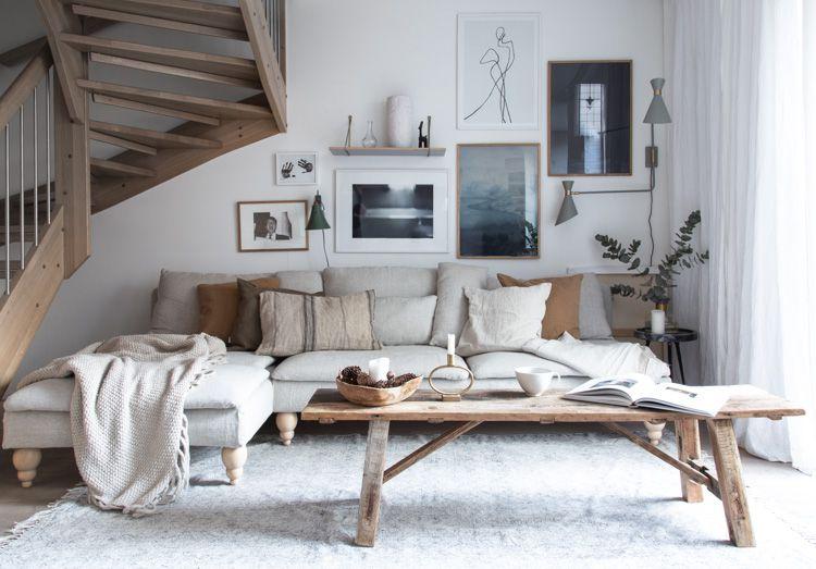 Scandinavian Style Living Room Design Inspiration