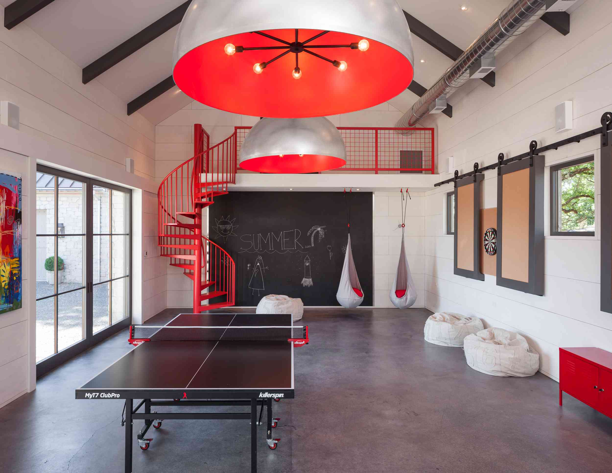 Whether you hope to have one child or six, there's no right or wrong answer when it comes to size. 11 Stylish Game Rooms That Encourage At-Home Fun