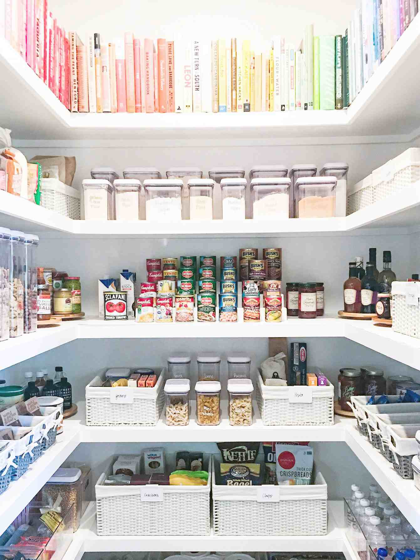 A Pro Shares 6 IKEA Kitchen Pantry Organization Ideas for Grammable Shelves