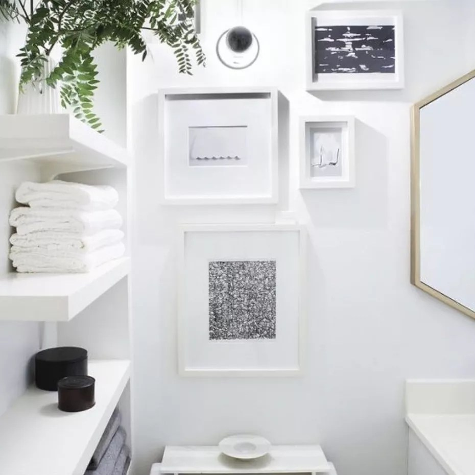 Cute art pieces about toilet.