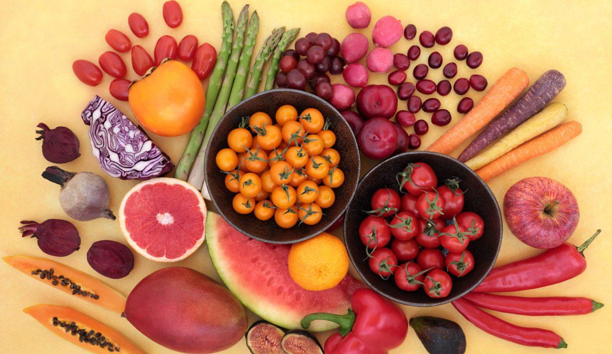 fruits and antioxidants