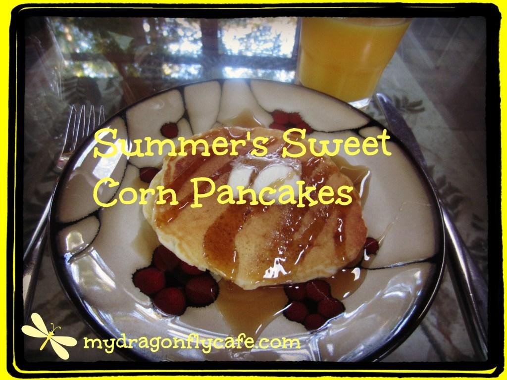 Summer's Sweet Corn Pancakes