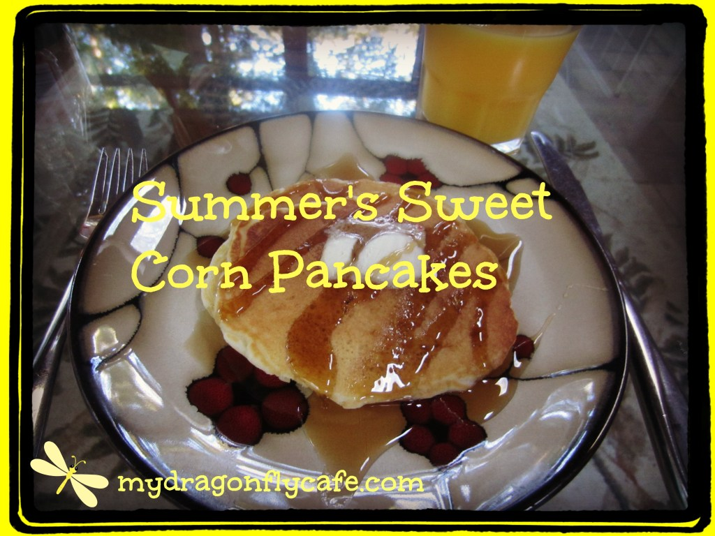 Summer's Sweet Corn Pancakes
