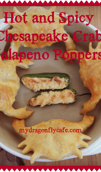 Hot and Spicy Chesapeake  Crab Jalapeno Poppers