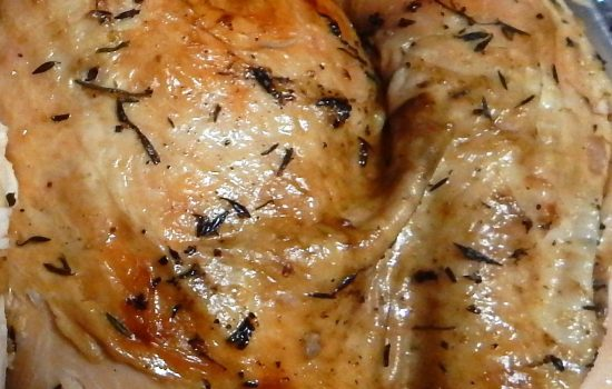Savory Crock Pot Turkey Breast