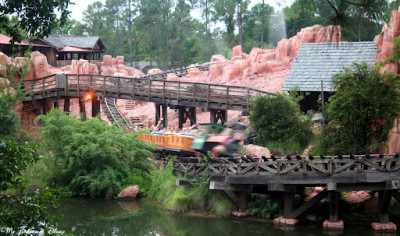 Big Thunder Mountain Railroad -- A Trip to the Old West!