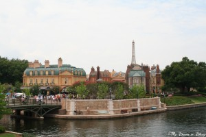 Epcot World Showcase, France Pavilion