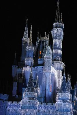 Magic Kingdom, Cinderella Castle, Christmas, Walt Disney World