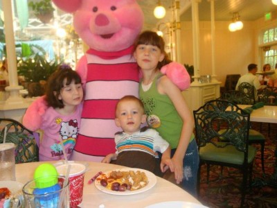My Dreams of Disney, Disney In Pictures, The Crystal Palace, Piglet, Magic Kingdom