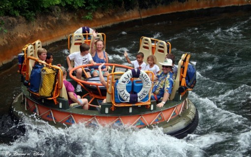 On a hot day, nothing beats a ride down the river on a raft to cool you down!