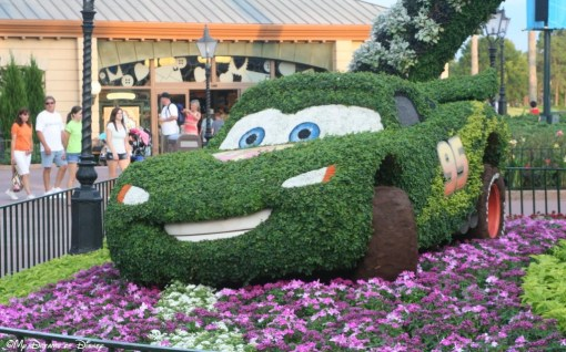 Mater after the Flower and Garden Festival