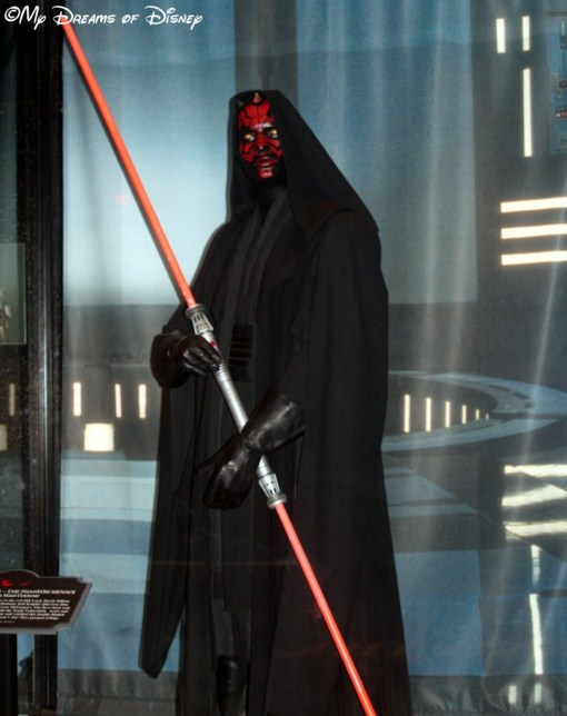 Another shot of Darth Maul