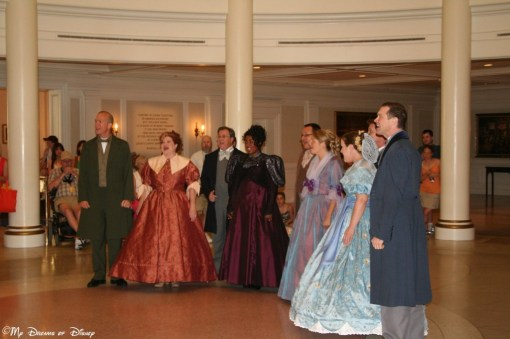 Voices of Liberty at the American Adventure Pavilion