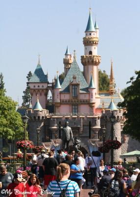 The original Disney Weenie, Sleeping Beauty Castle at Disneyland!