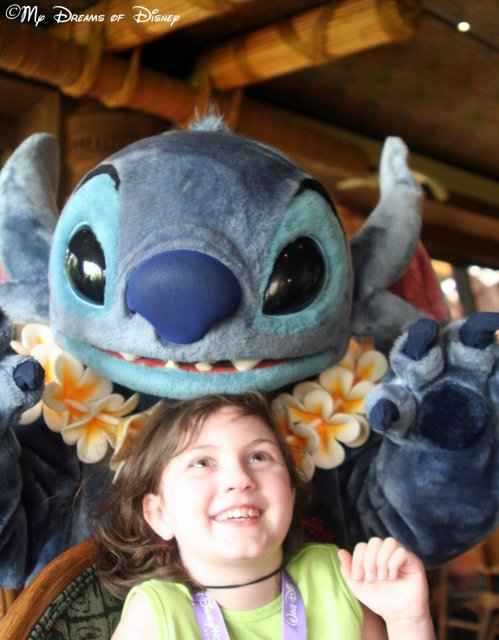 Sophie and Stitch! I love this shot!