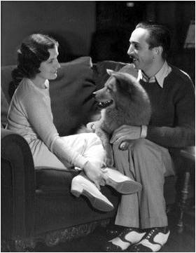 Lillian & Walt Disney