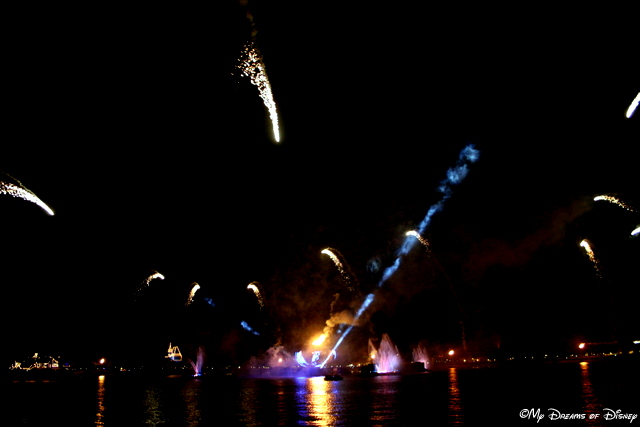 Illuminations: Reflections of Earth is another incredible show that is a must see at Epcot!