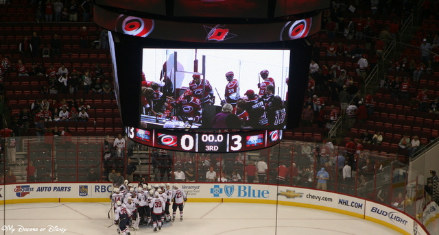 The Good Life...is watching your Washington Capitals defeat the Carolina Hurricanes 3-0...