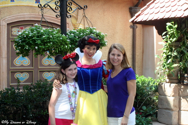 Snow White with Stephanie and Sophie