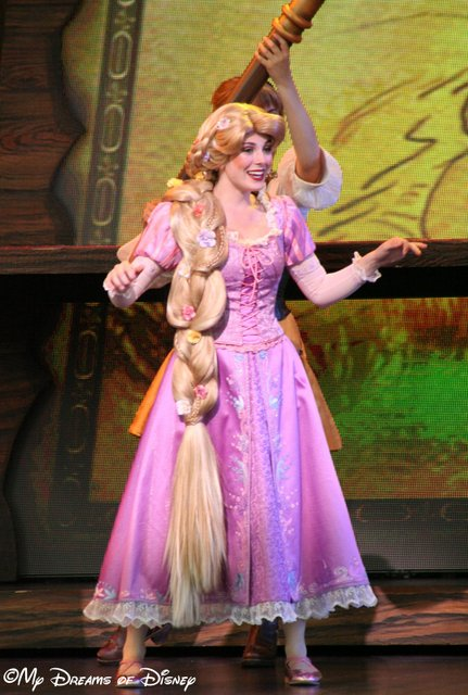 Rapunzel in Mickey and the Magical Map