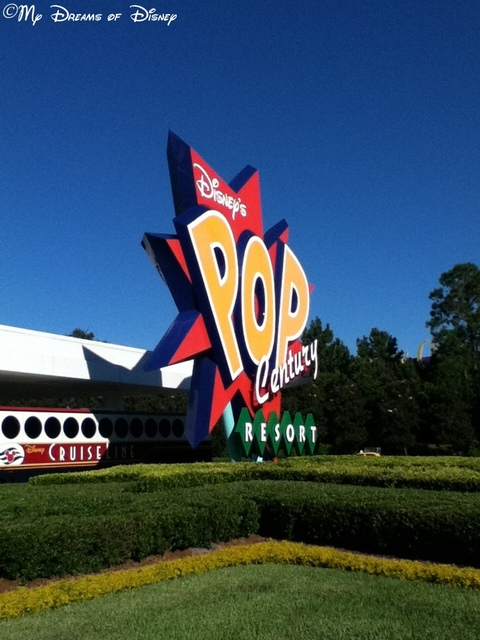 If you haven't stayed here, go visit Pop Century one day -- a great resort with a great price!