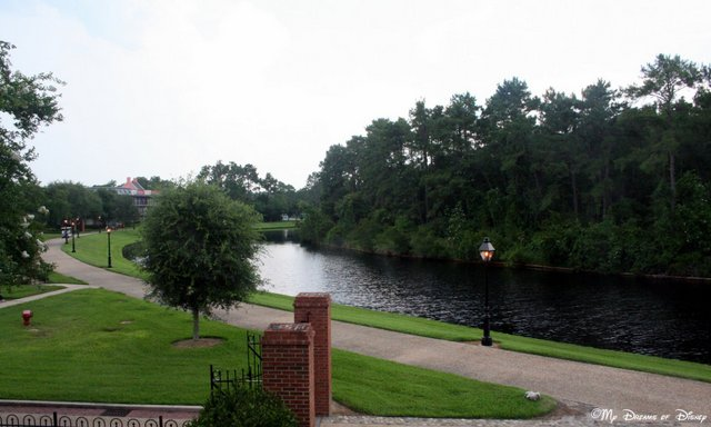 Over at Port Orleans French Quarter, the Sassaguola River takes you north to Port Orleans Riverside or south to Downtown Disney!