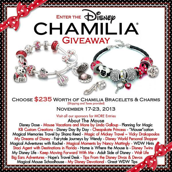 Enter to win some great Chamilia Jewelry!