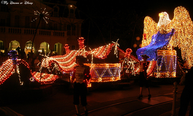 My favorite float in the Main Street Electrical Parade