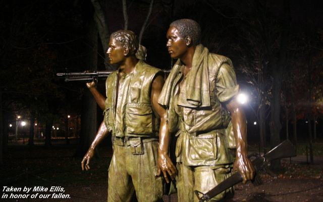 Korean War Soldiers immortalized in statue