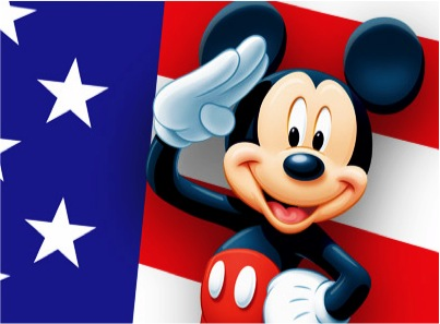 Mickey Mouse Salutes the Armed Forces