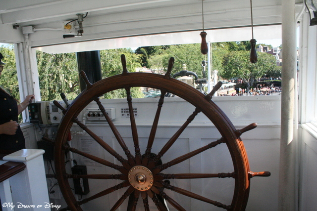 The Mark Twain Riverboat is a replica paddleboat on the Mighty Mississippi!